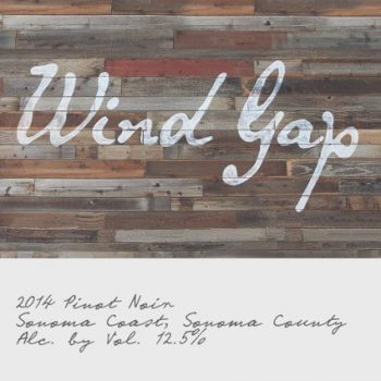 Wind Gap Pinot Noir Sonoma Coast 2014