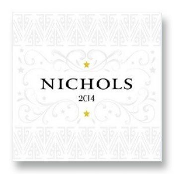 Nichols Cabernet Rutherford Napa Valley 2014