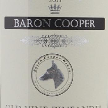 Baron Cooper Old Vine Zinfandel 2015