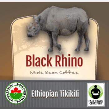 Fair Trade Organic Black Rhino Ethiopian Tikikili | 12oz