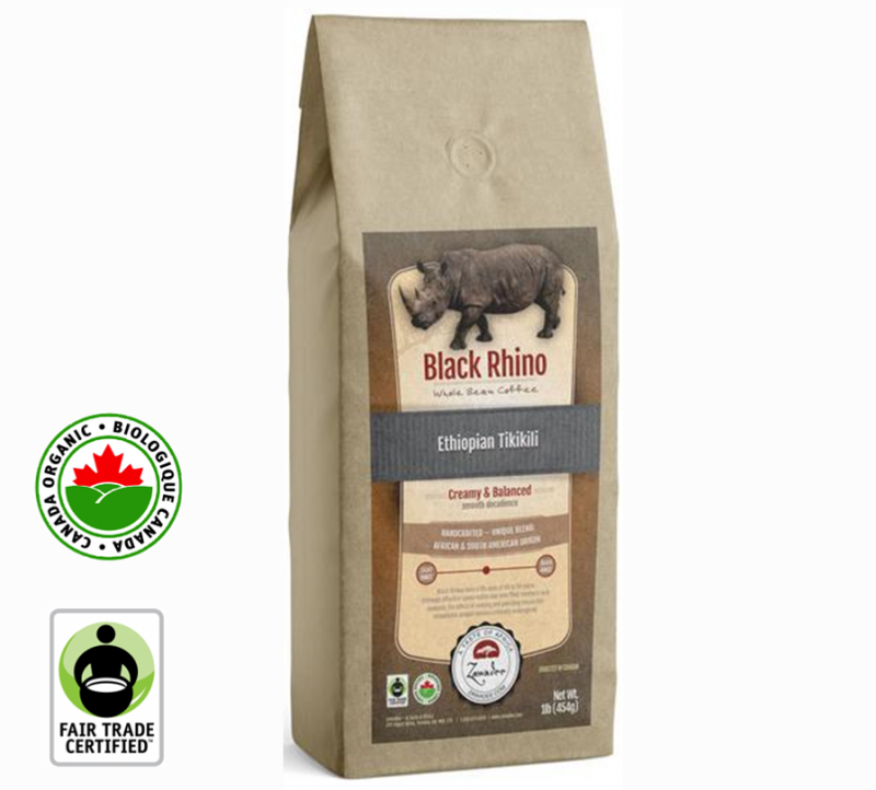 Fair Trade Organic Black Rhino Ethiopian Tikikili | 16oz