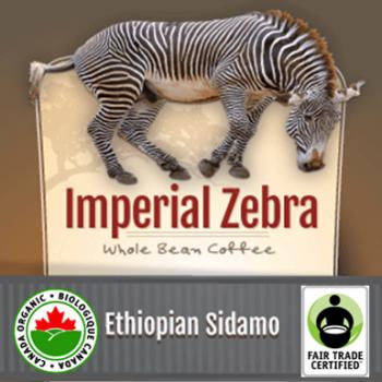 Fair Trade Ethiopian Sidamo Organic Imperial Zebra | 32oz