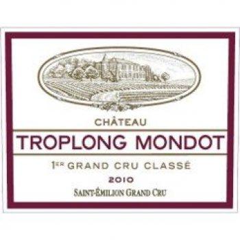 Chateau Troplong Mondot Grand Cru Classe 2010