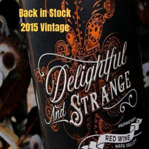 Delightful and Strange Red Blend 2015