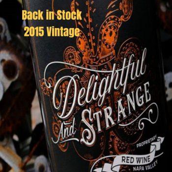 Delightful and Strange Red Blend 2015