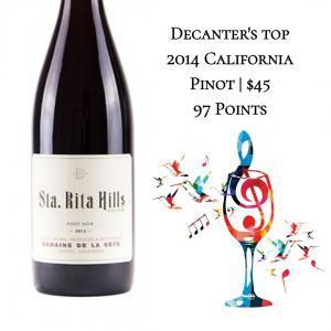 Domaine de La Cote Pinot Noir Sta. Rita Hills 2014