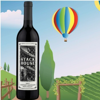 Stack House Cabernet Sauvignon Napa Valley 2015