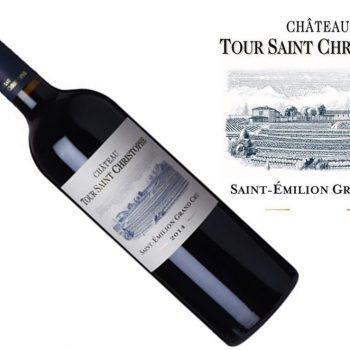 Tour Saint Christophe St. Emilion Grand Cru 2014   1.5L