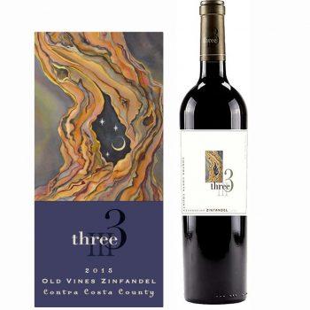 Three Wine Company Evangelho Zinfandel 2015