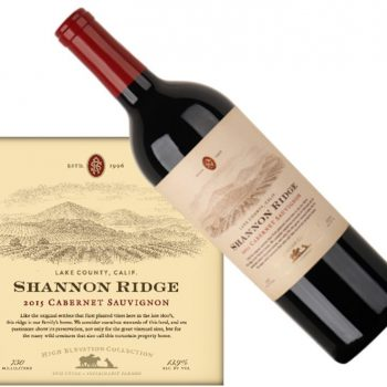 Shannon Ridge Cabernet Sauvignon High Elevation 2015