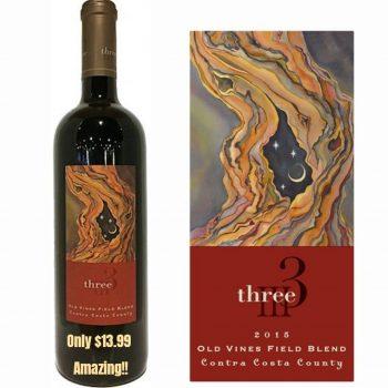 Three Wine Company Old Vines Field Blend 2015