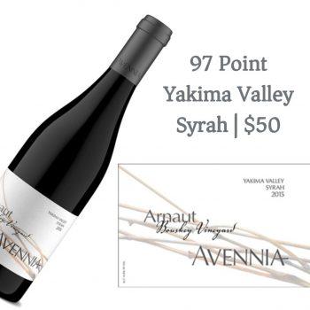 Avennia Arnaut Boushey Vineyard Syrah 2015