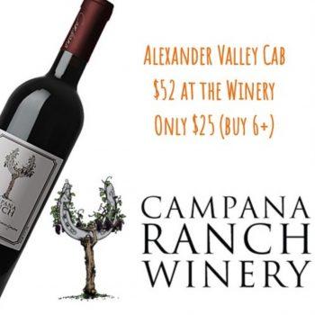 Campana Ranch Cabernet Sauvignon 2014