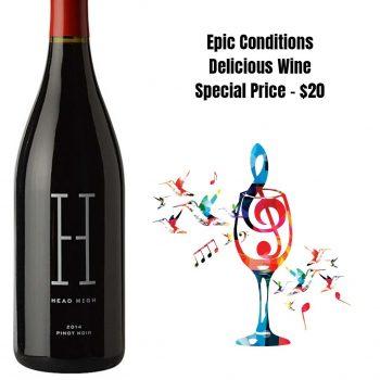 Head High Pinot Noir Sonoma County 2014