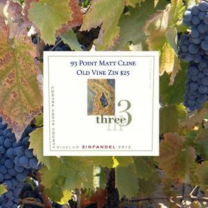 Three Wine Company Bigelow Zinfandel 2015