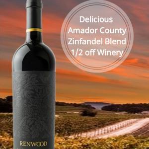 Renwood Indian Creek Vineyard Zinfandel 2016
