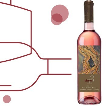 Three Wine Company Old Vines Rosé 2018