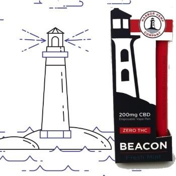 Harbor Hemp Zero THC Disposable CBD Vape Pen