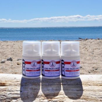 Harbor Hemp Zero THC CBD Pain Cream 30ml